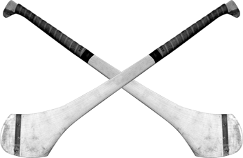 Hurley, some of the only equipment needed in the sport of hurling